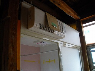脱衣室暖房機