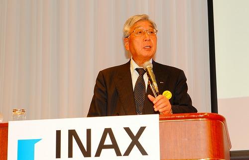 INAX首都圏統括支社長 秋山泉様