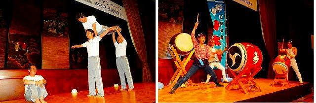 和太鼓や組立体操